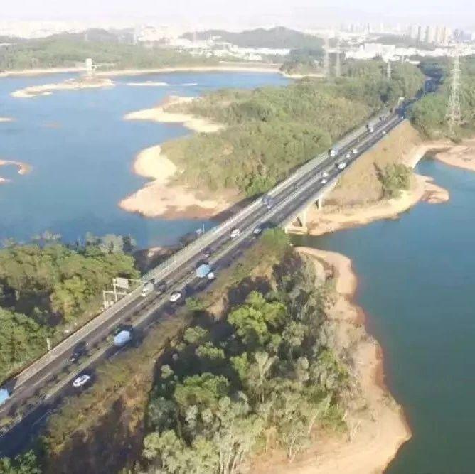 4车道变8车道,深汕高速公路改扩建明年开工!