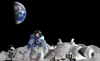 """垃圾真的上天了,月球""""保存""""200吨垃圾,回收难但没有味道"""