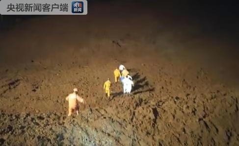 貴州六盤水發生山體滑坡,21幢房屋被埋救援仍在進行