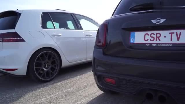 视频:【Golf GTI 大战 MINI Cooper S】你看好谁?