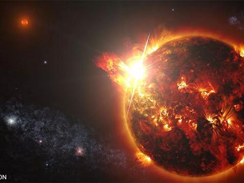 首次观测到450光年外恒星的巨大日冕物质抛射!