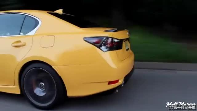 视频:全面测评2019年雷克萨斯GS F,第一视角带你体验这款车!