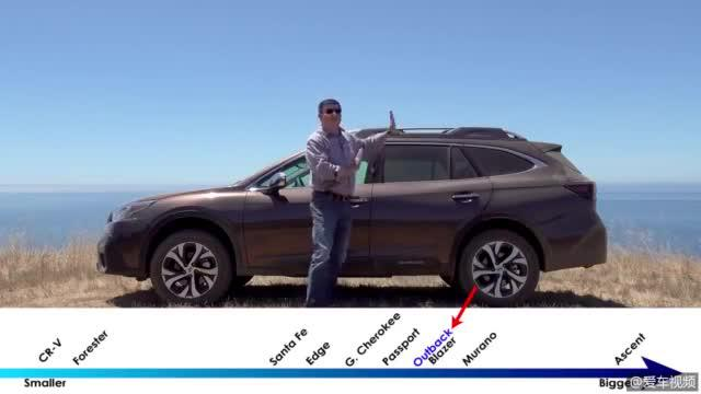 视频:2020款斯巴鲁Outback,海外简要分析