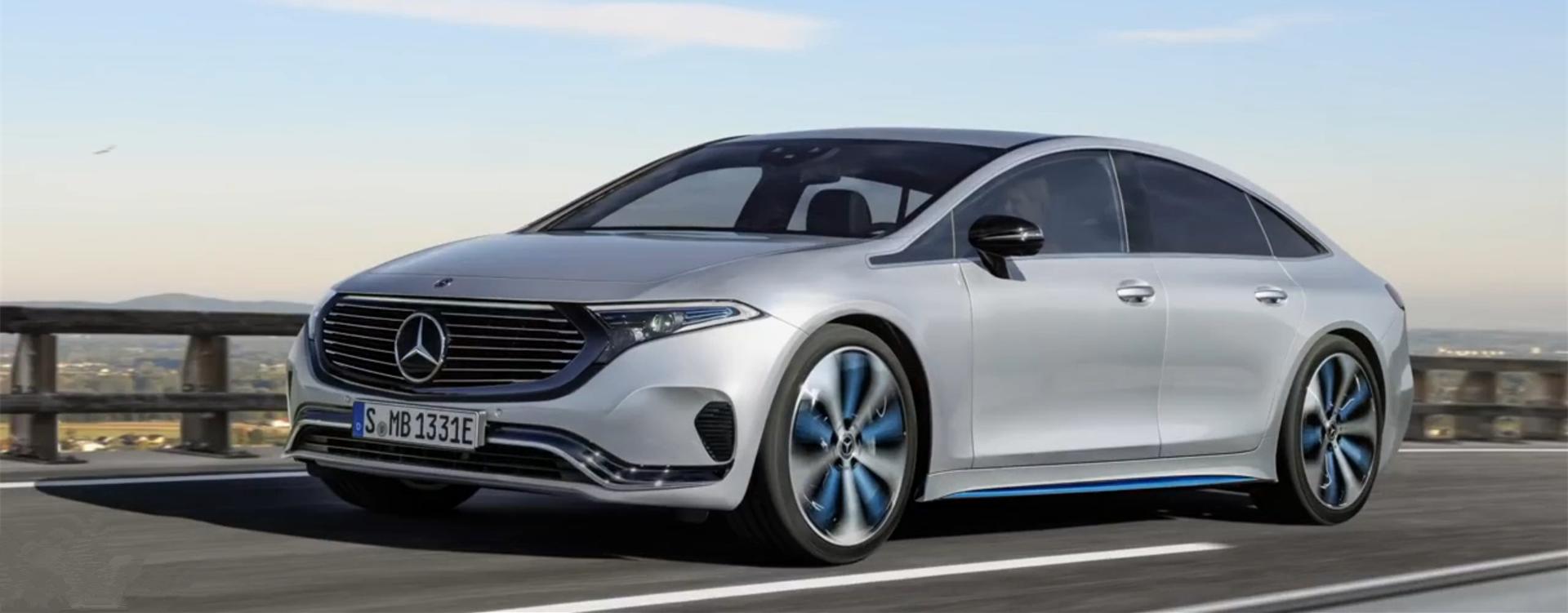 奔驰最新电动车要对标Model S ?