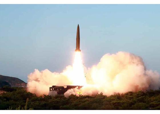 日韩抗议朝鲜导弹试射 特朗普降温:只是小导弹|特朗普|朝鲜