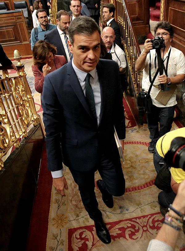 谈判无果 西班牙议会再次否决桑切斯出任首相|首相|大选