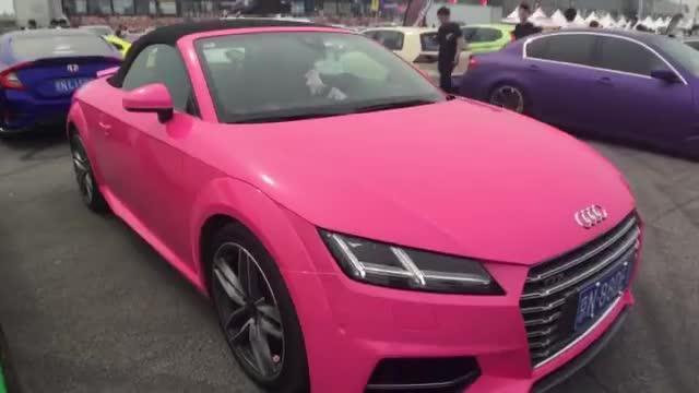 视频:汽车视频:粉丝的奥迪TTS确实可爱