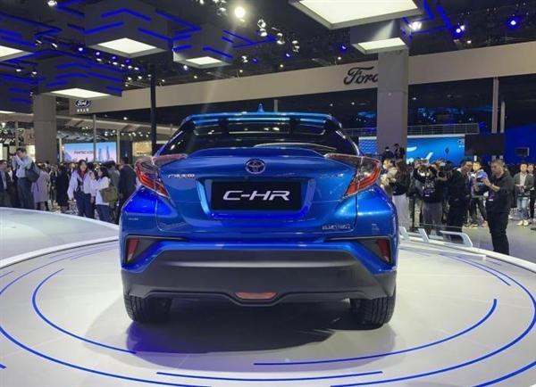丰田纯电动车来了!C-HR电动版将2020年上市:TNGA架构打造