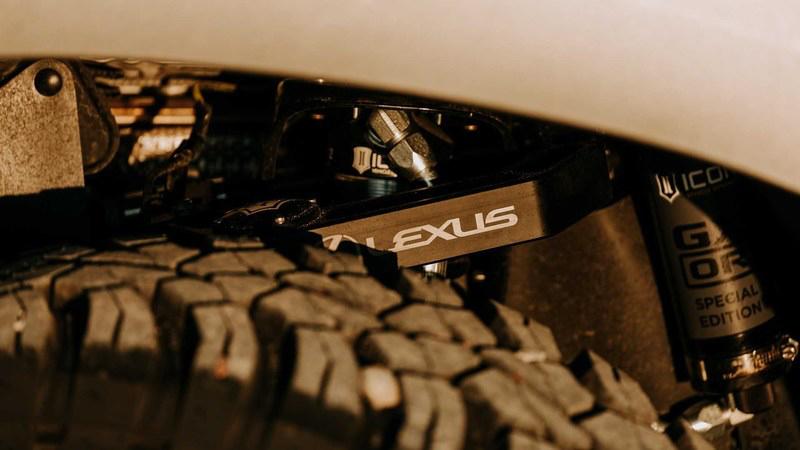 雷克萨斯 GX 概念车官图 越野套件加持
