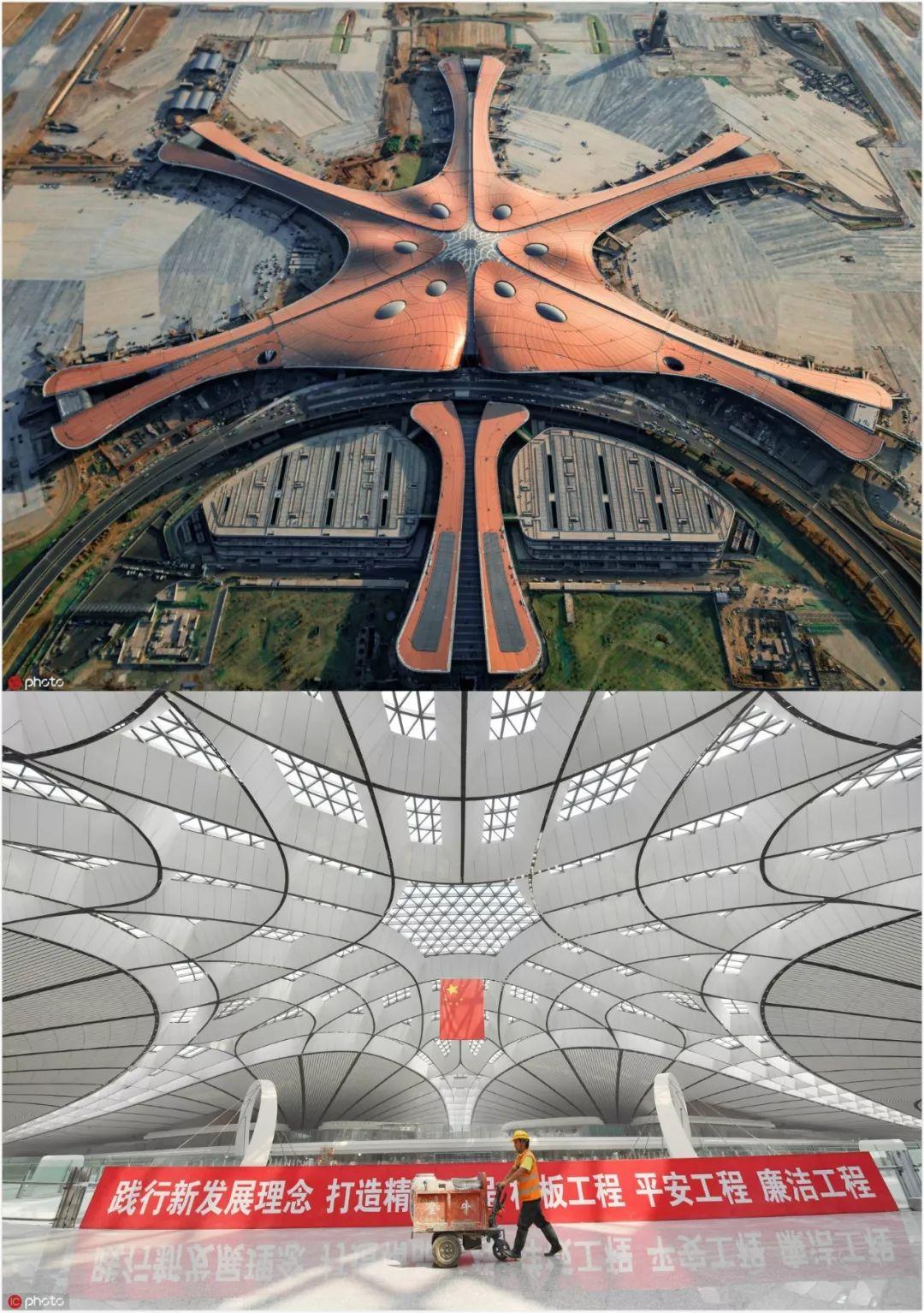 ▲即將投入運營的北京大興國際機場,圖片來源:東方IC。