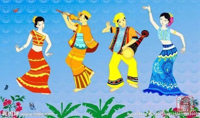 【民族的大团结 你我的运动会】傣族:西南边疆古越人文化的传承者