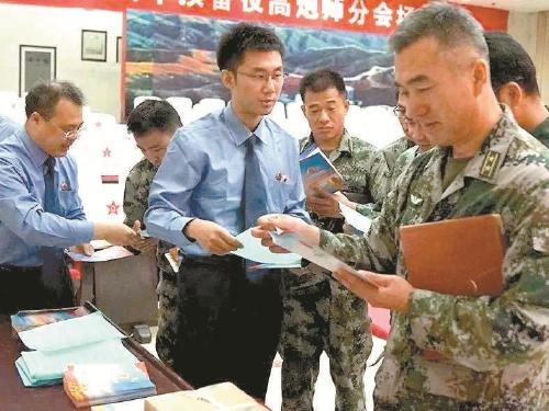 北京軍事檢察院服務案轄部隊練兵備戰與法律同行