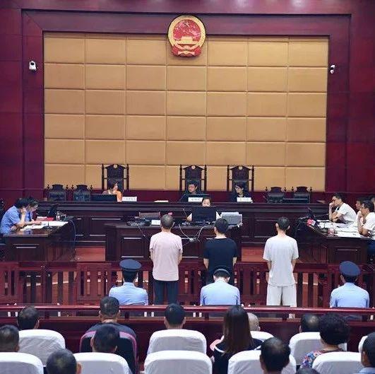 新余渝水区公开开庭审理章某生等3人恶势力团伙犯罪案