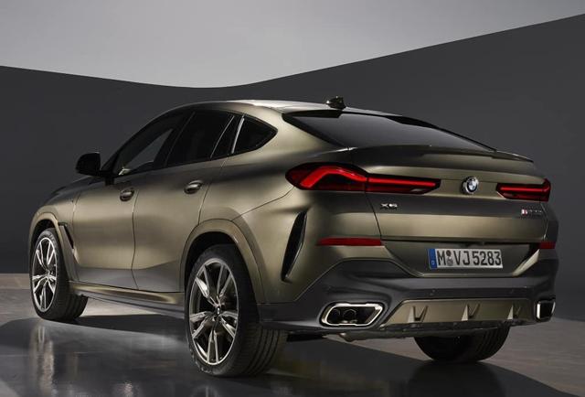 轿跑SUV的鼻祖,全新宝马X6官图发布,9月正式亮相!
