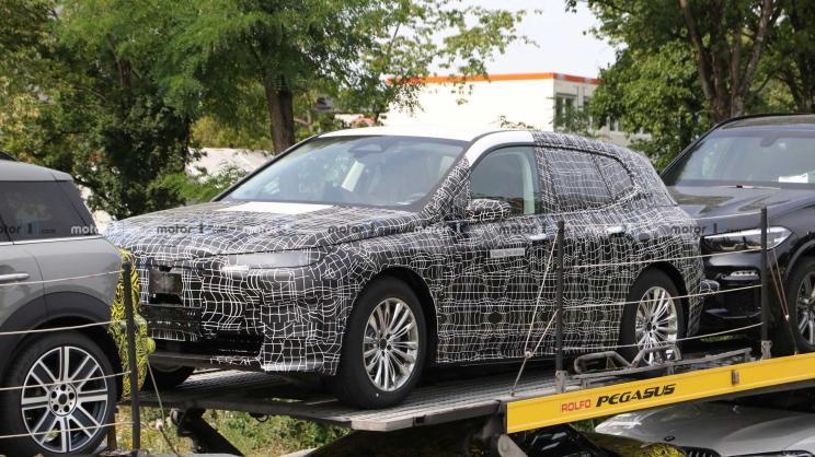 车身长度大于现款宝马X5,iNext量产版谍照曝光