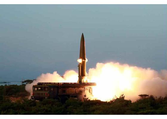 朝鲜试射导弹当天 美国核潜艇正访韩|导弹|朝鲜
