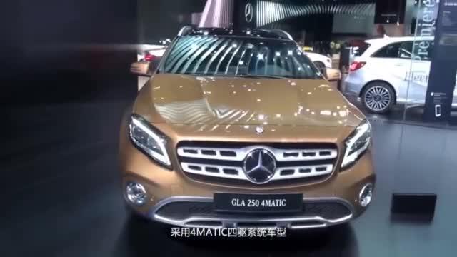 视频:梅赛德斯奔驰GLA又出新车,概念车的主要造型,性能怎么样?