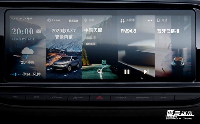 为什么说智豪中国的2020款风神AX7搭准了中国消费时代的脉