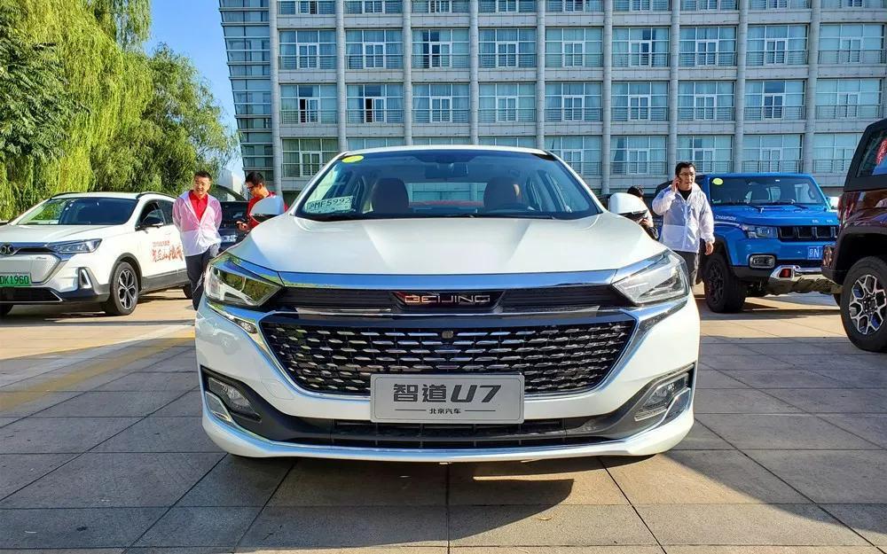 换标后的第二款车!北京汽车智道U7实车曝光