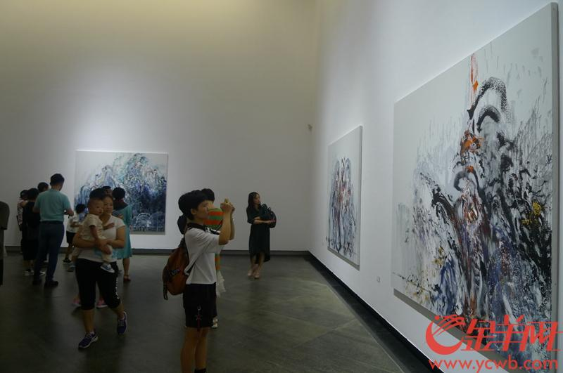 只展29天!玛吉·汉布林的绘画艺术在广东美术馆展出