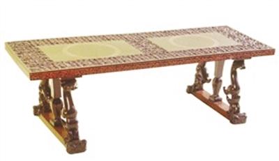 曾侯乙墓出土的漆木家具庄重典雅