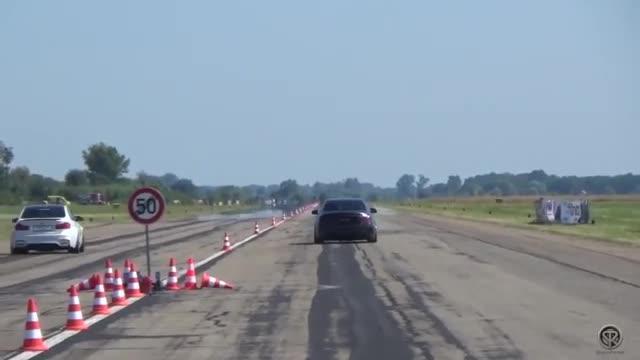 视频:宝马M4 F82 vs 奔驰C63 AMG,哪台车声浪好听加速更快?