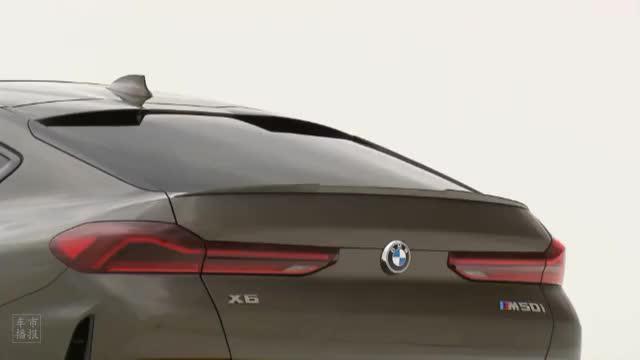 视频:汽车视频:2020款 宝马 X6 M50i