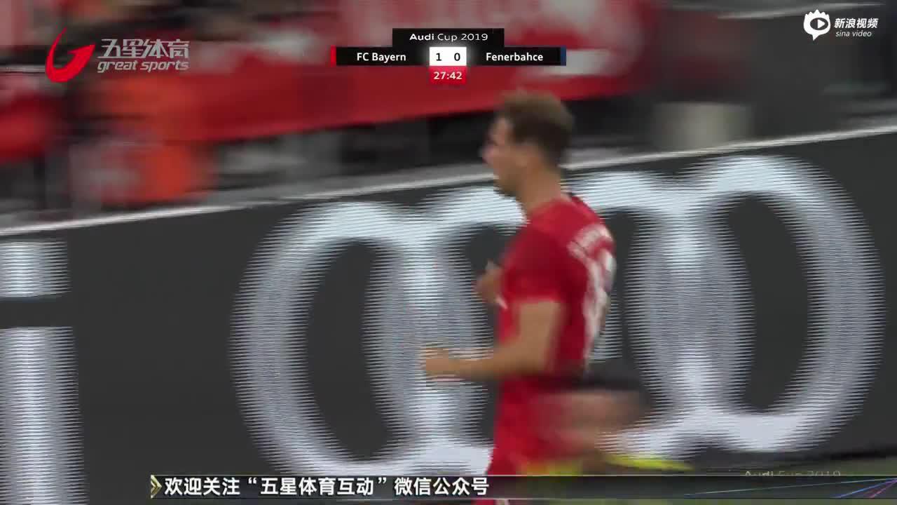视频-奥迪杯半决赛:穆勒帽子戏法 拜仁六球狂胜