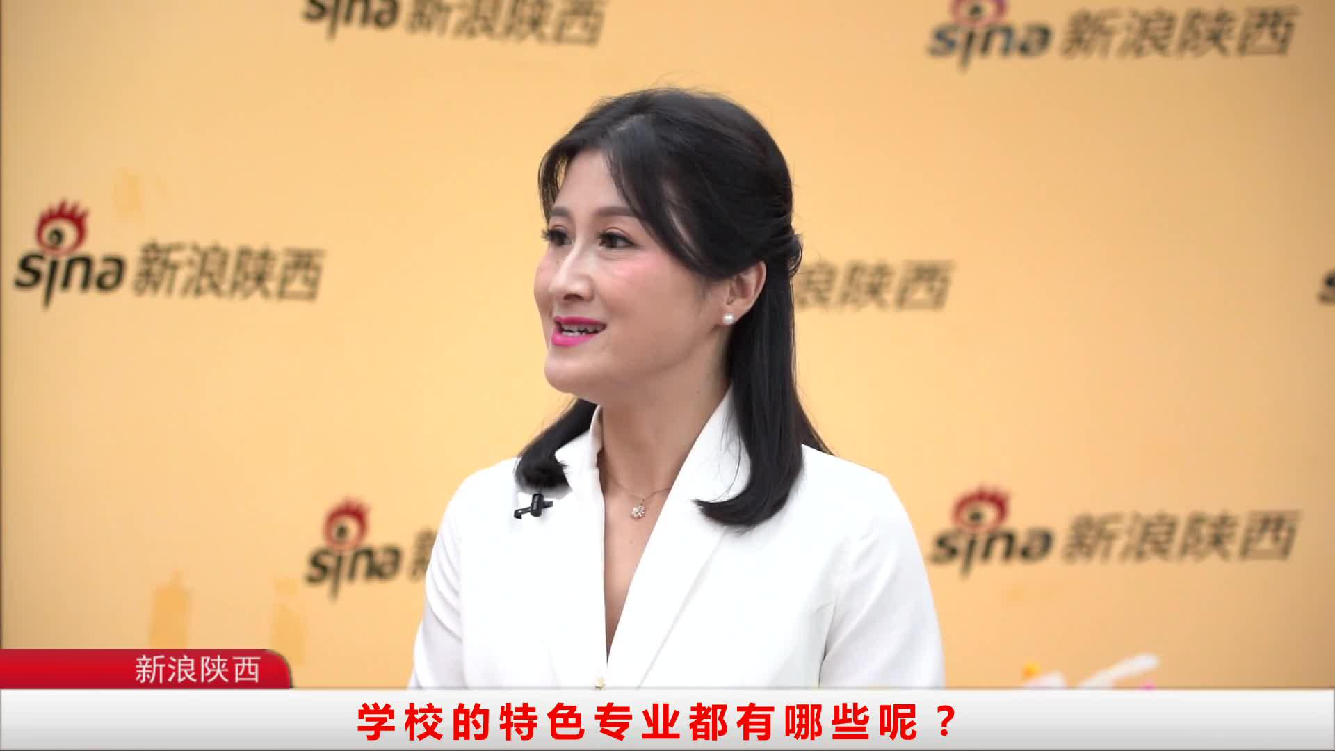 新浪陕西专访西安铁路职业技术学院李洁