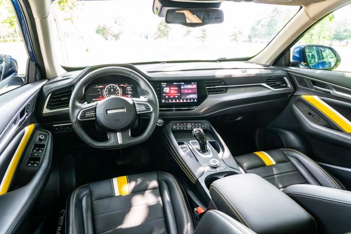 高颜值轿跑SUV设计,2.0T动力7.2秒破百!试驾体验哈弗F7x