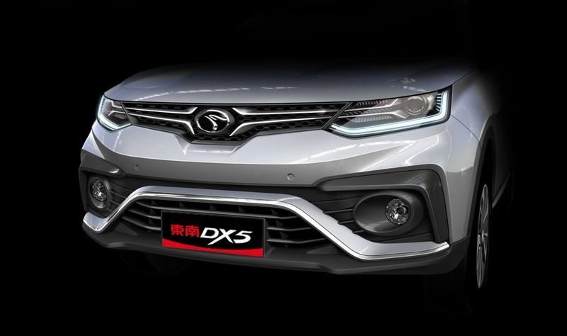 年轻元素贯穿内外 东南DX5设计图曝光