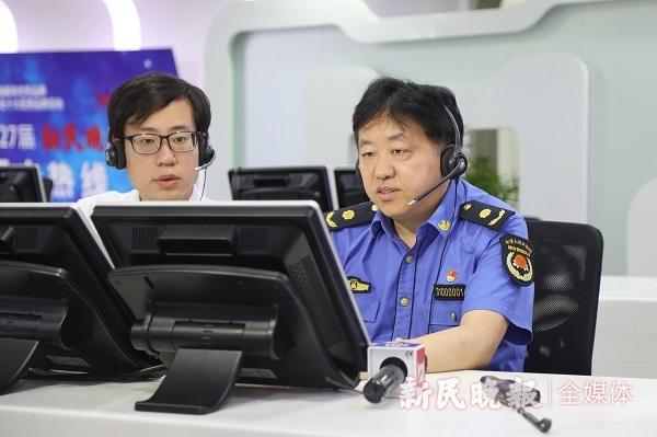 现场访谈 上海市城管局局长徐志虎:无违建居村创建合格率争取超90%