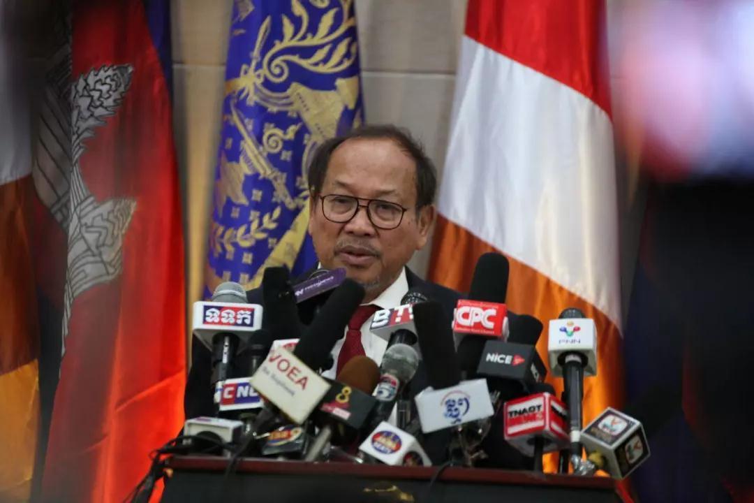 美使馆质疑柬埔寨大选 柬官员:看不惯可以走人|柬埔寨|大选