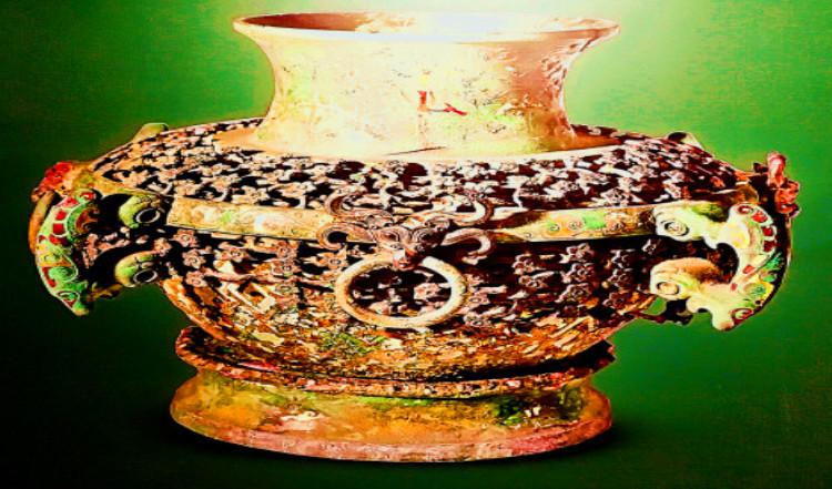 你信不信,一件青铜圆壶上,竟装饰了96条蟠龙和576朵梅花?!考古发现的燕国都城有几个?燕国的手工业发展咋样?