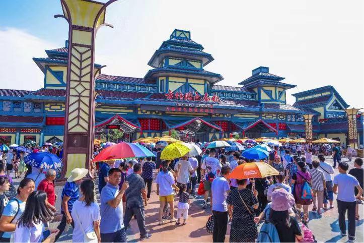 创新展现成语文化 邯郸方特国色春秋主题乐园开业
