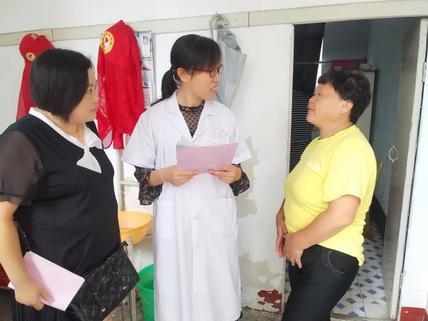 岱岳区妇幼保健院上门服务为育龄夫妇免费孕前健康检查
