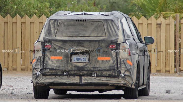 对标GL8,北美最好的MPV!全新丰田Sienna谍照曝光2022年国产销售