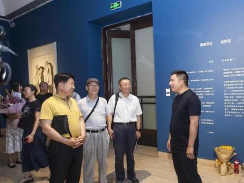 唯美表达:宋彦军作品展亮相中国美术馆