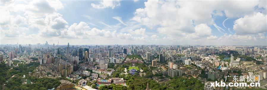 """一路向海 """"湾顶""""谋变——新中国成立70年广州发展侧记"""
