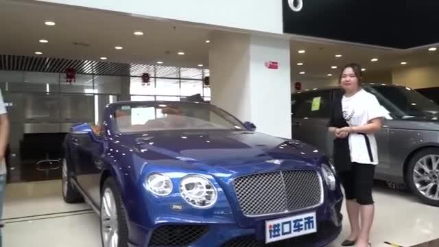 视频:详细讲解17款宾利欧陆敞篷GTC,豪华跑车配置大揭秘啦!