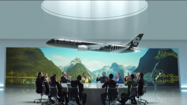 """黑We Go!新西兰航空摇身一变改名为""""全黑队航空""""!一支安全视频"""