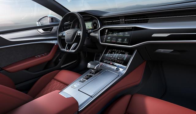 2020款奥迪S7搭载2.9T+48V轻混系统,4.5秒破百,比奔驰CLS更厚道
