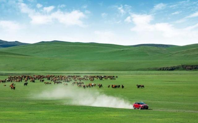 暑期草原试驾新帝豪GS,第一网红SUV开起来怎么样?