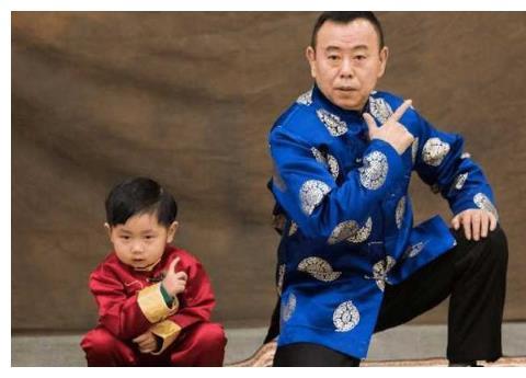 潘长江的基因有多强大?外孙和他越长越像,潘阳都急了