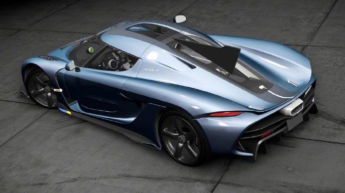 时速400km/h,柯尼塞格Jesko'300'特别版车型染图发布