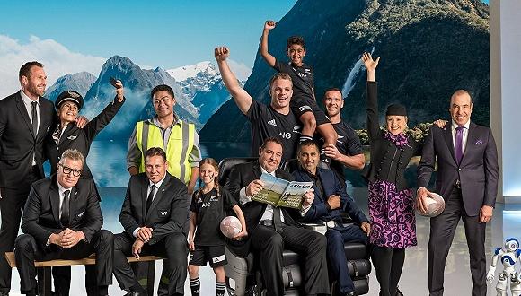 新西兰航空请橄榄球队助演,安全视频成航空公司特色名片