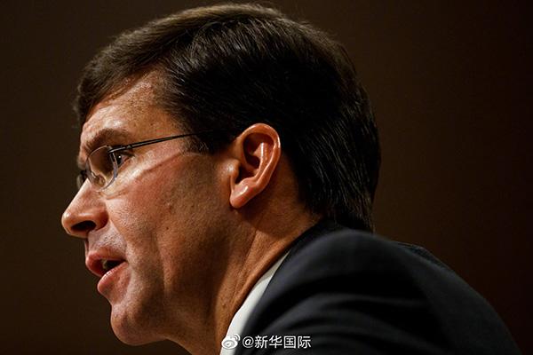 美国防长:支持尽快在亚洲部署陆基中程导弹|中导条约