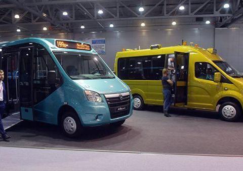 """俄罗斯高尔基汽车厂正在测试无人驾驶汽车""""瞪羚"""""""