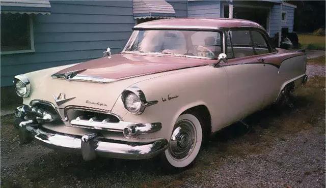 """50年代专为女性设计的""""粉嫩系""""汽车 超可爱"""