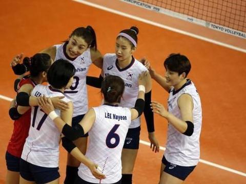 女排资格赛E组韩国3-0大胜墨西哥 金软景得14分